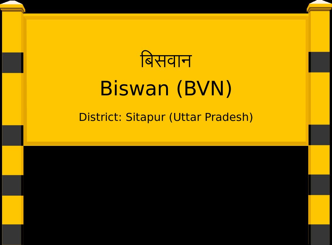 Biswan (BVN) Railway Station