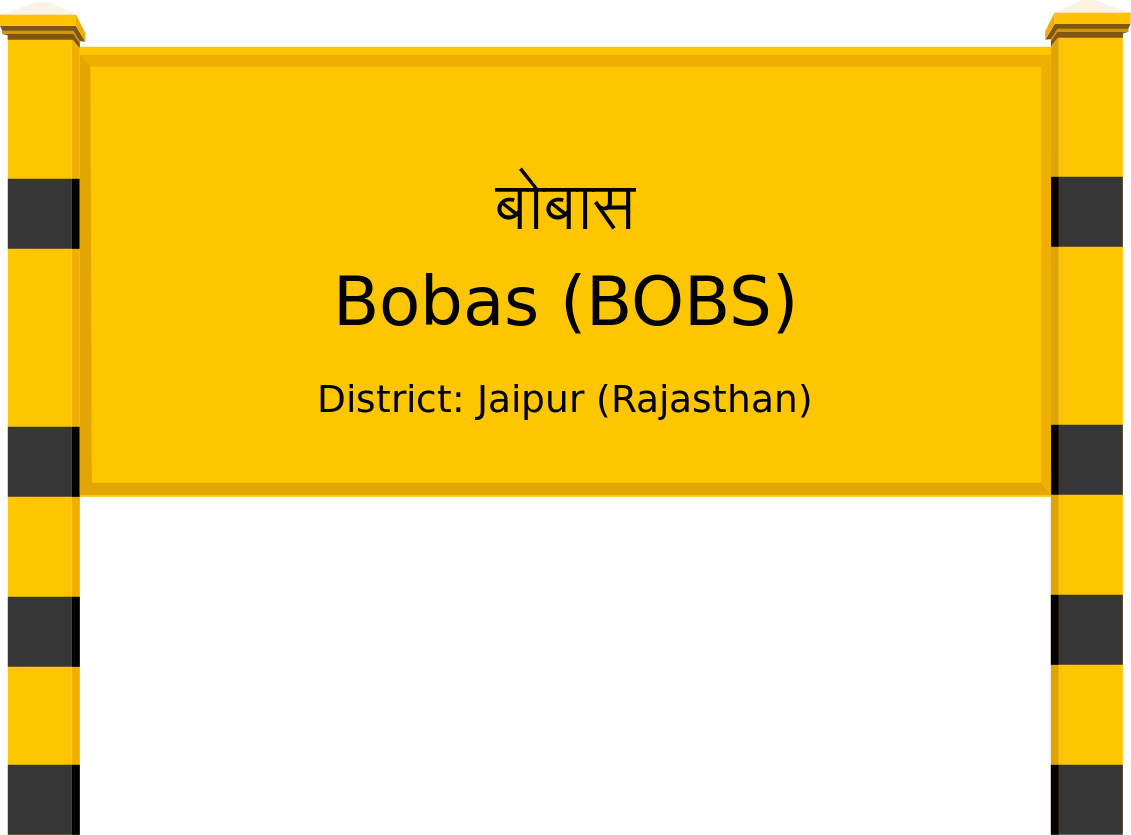 Bobas (BOBS) Railway Station
