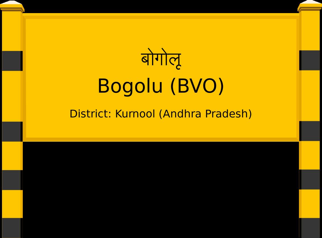 Bogolu (BVO) Railway Station