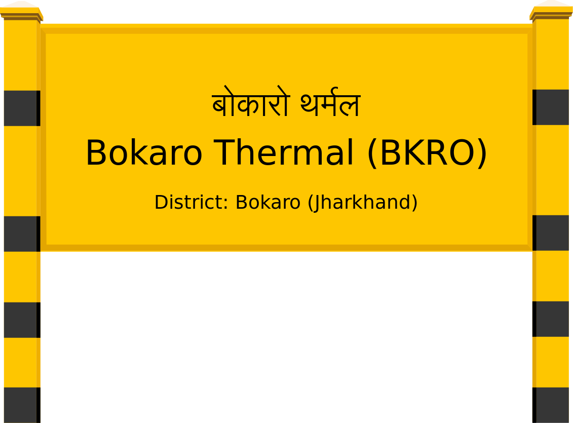 Bokaro Thermal (BKRO) Railway Station