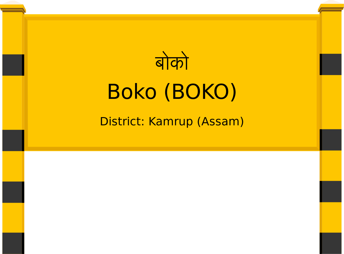 Boko (BOKO) Railway Station