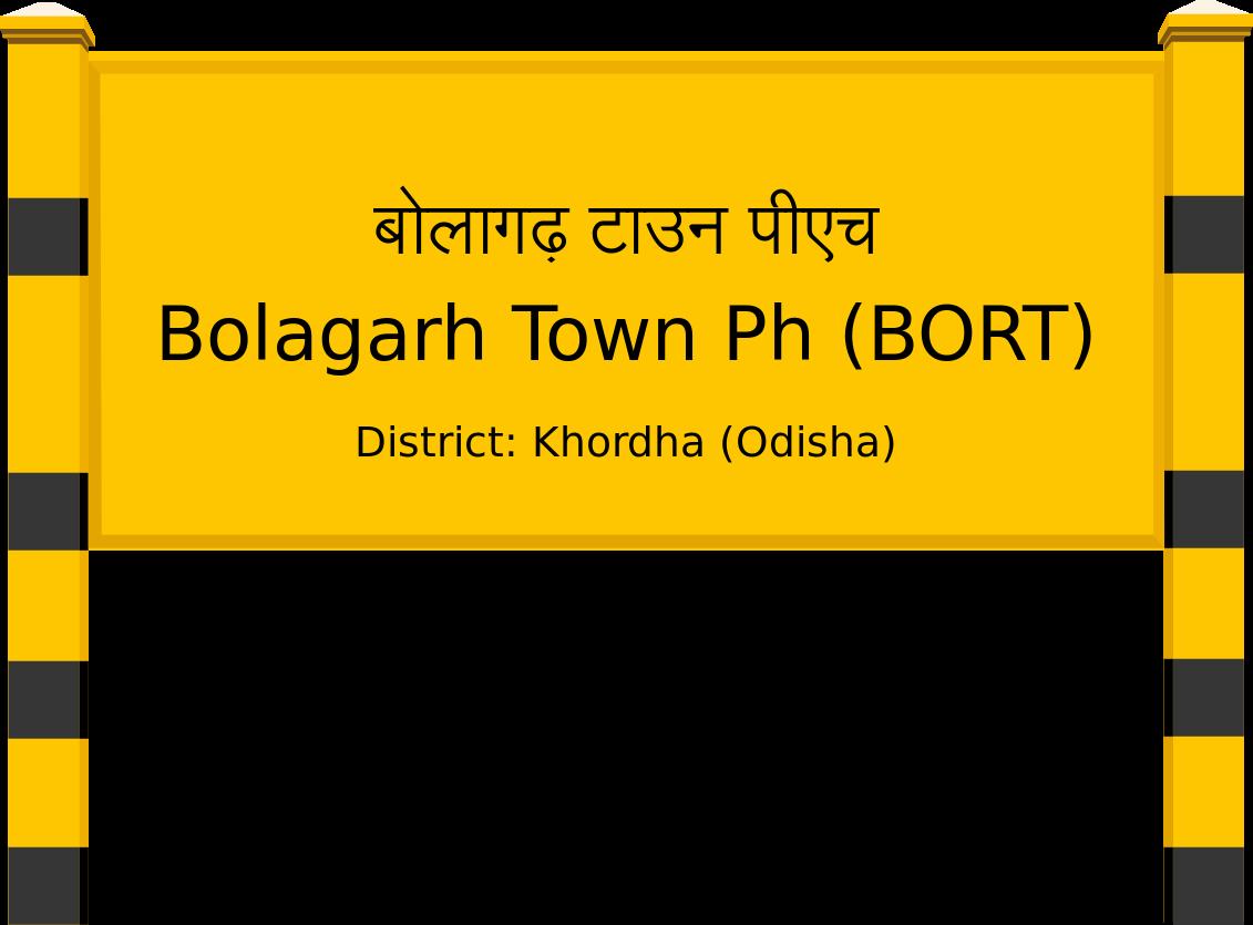 Bolagarh Town Ph (BORT) Railway Station