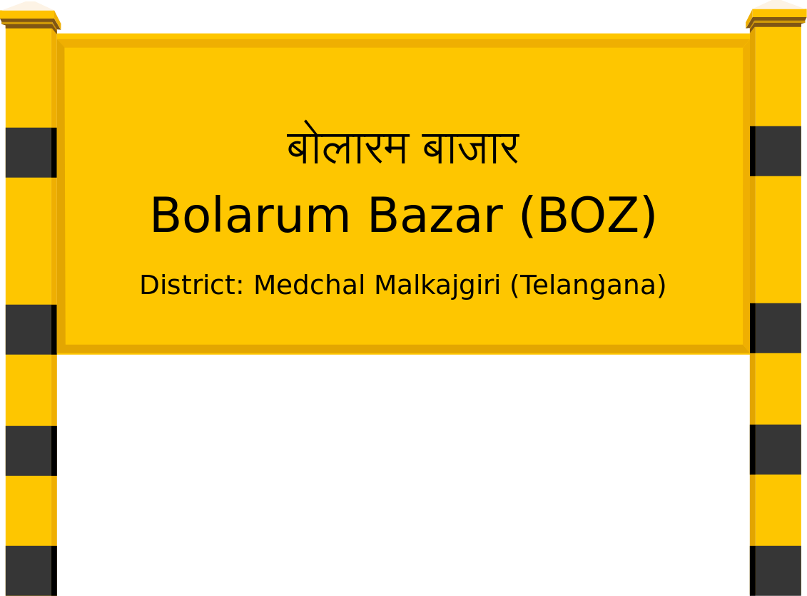 Bolarum Bazar (BOZ) Railway Station