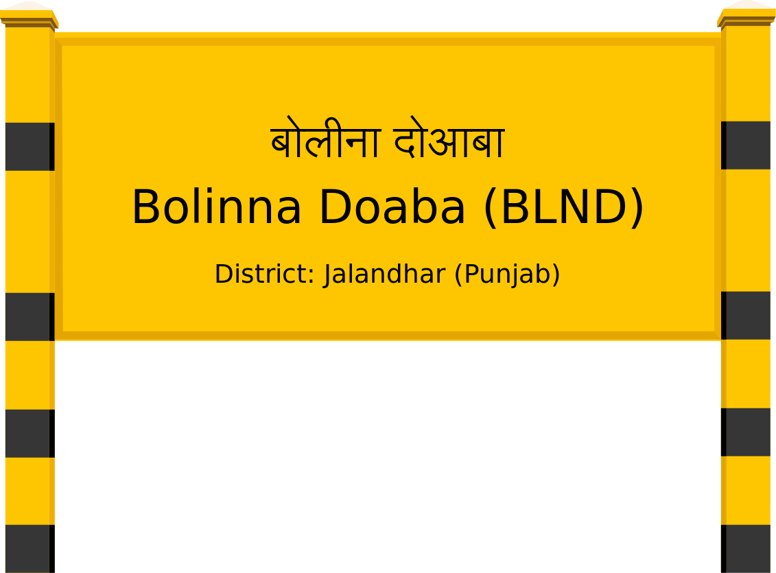 Bolinna Doaba (BLND) Railway Station
