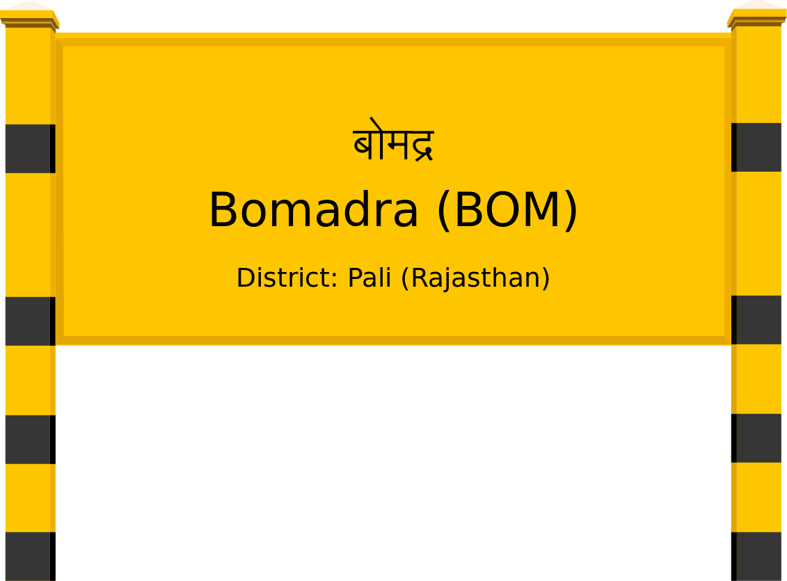 Bomadra (BOM) Railway Station