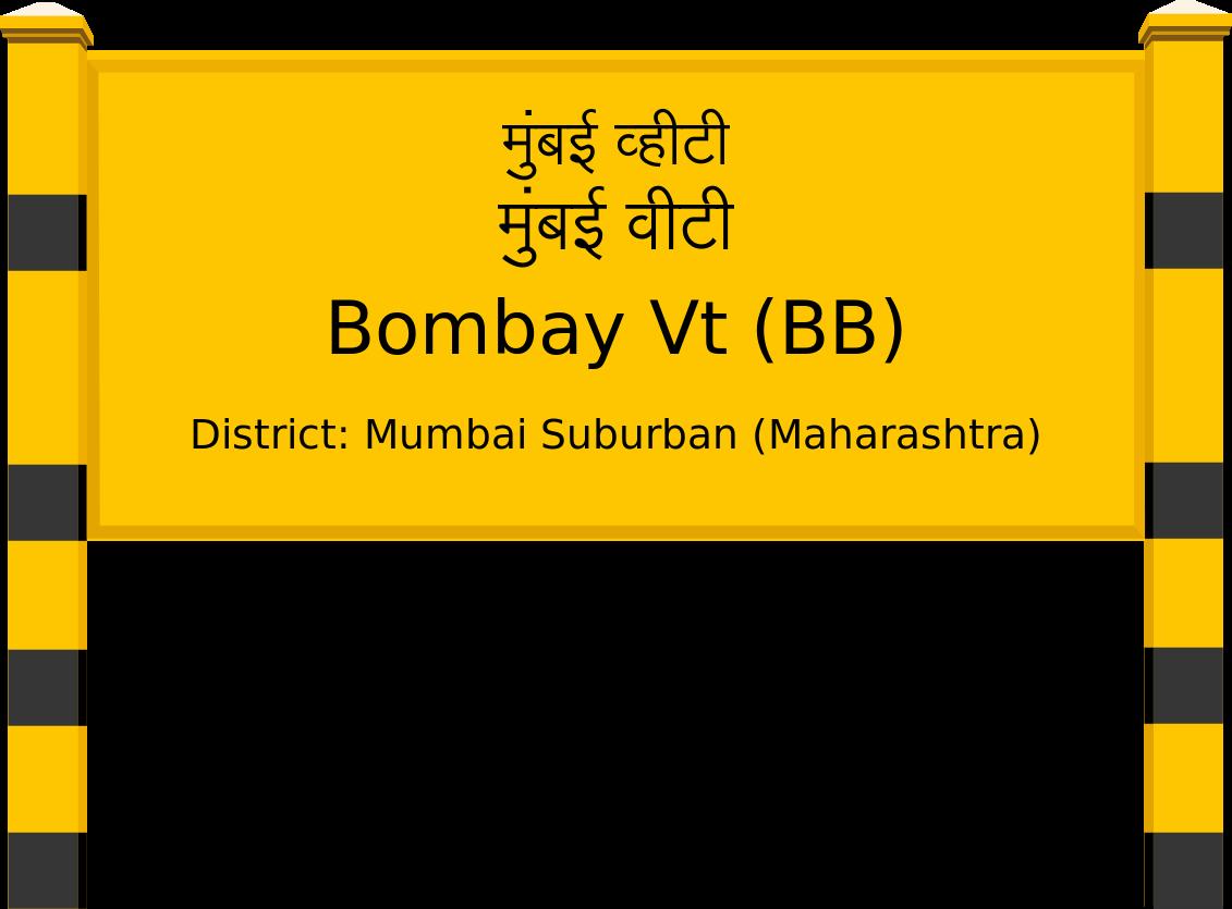 Bombay Vt (BB) Railway Station