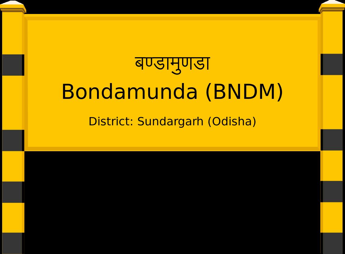 Bondamunda (BNDM) Railway Station