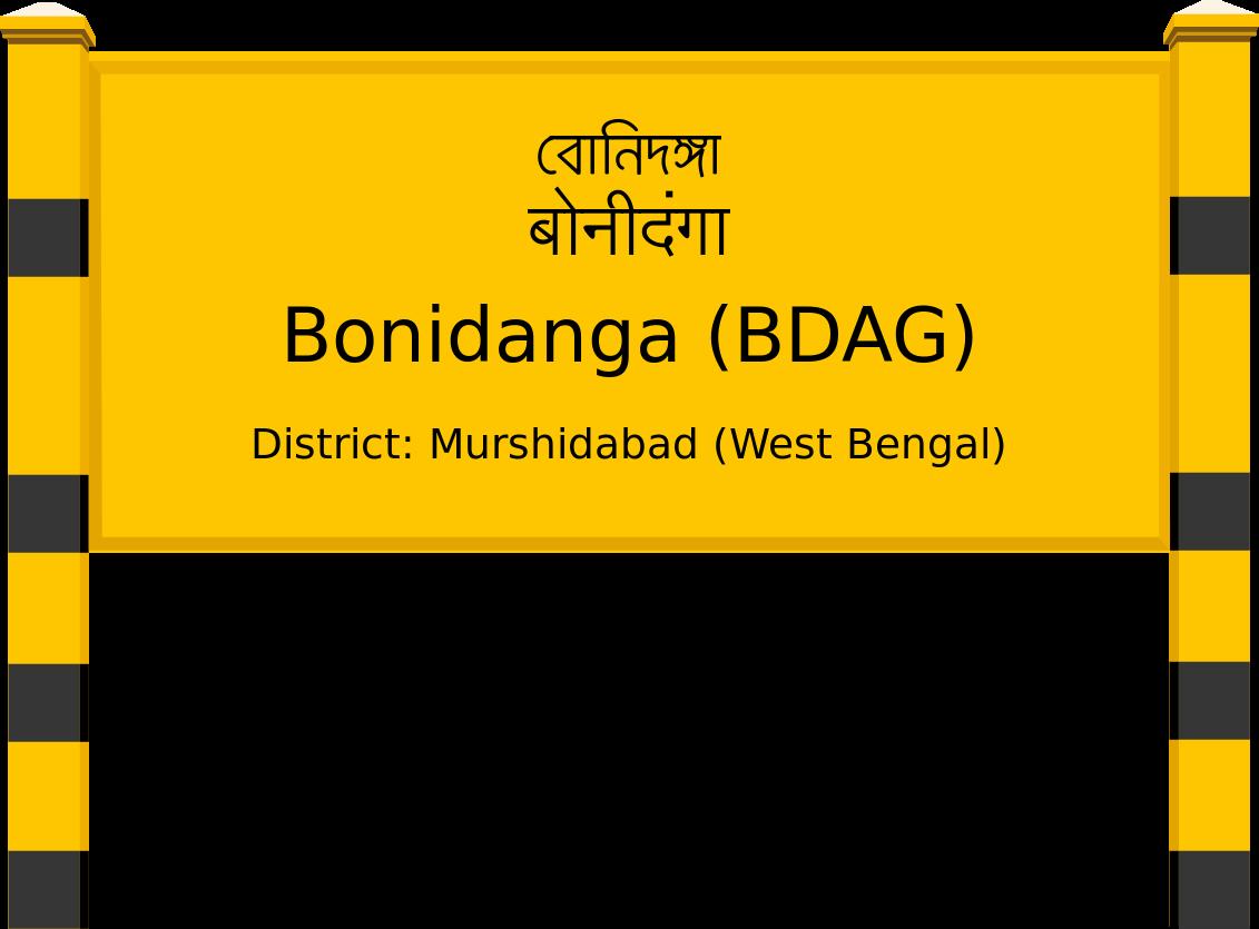 Bonidanga (BDAG) Railway Station