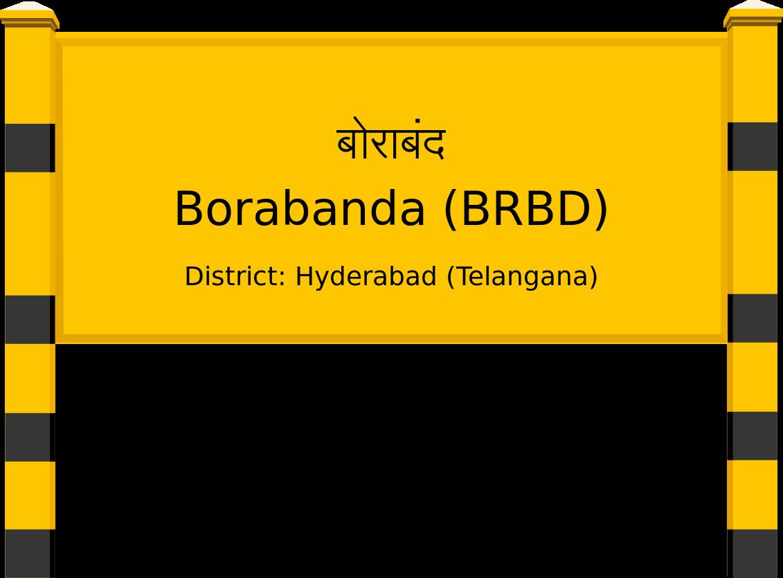Borabanda (BRBD) Railway Station