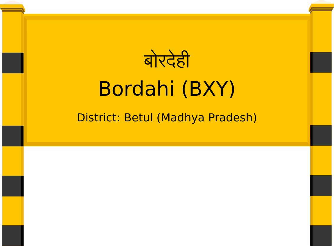 Bordahi (BXY) Railway Station