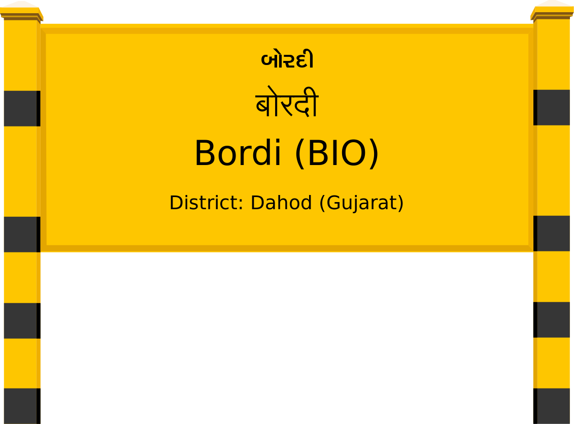 Bordi (BIO) Railway Station
