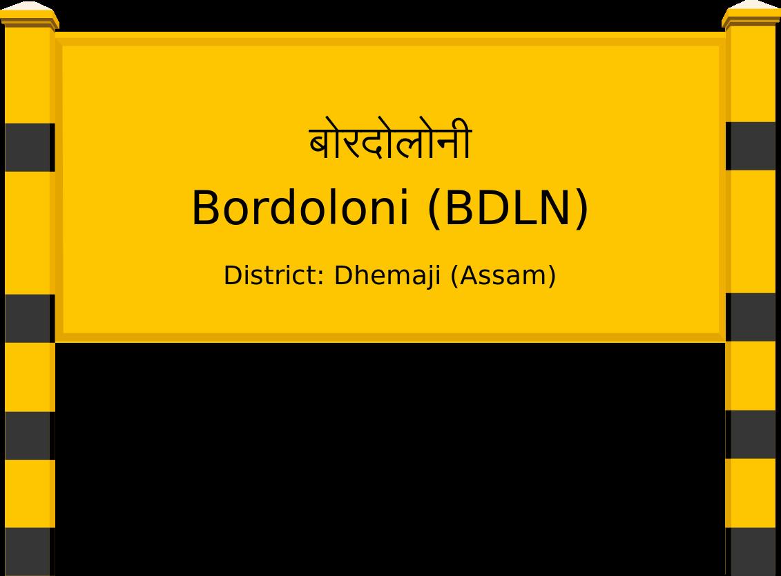Bordoloni (BDLN) Railway Station