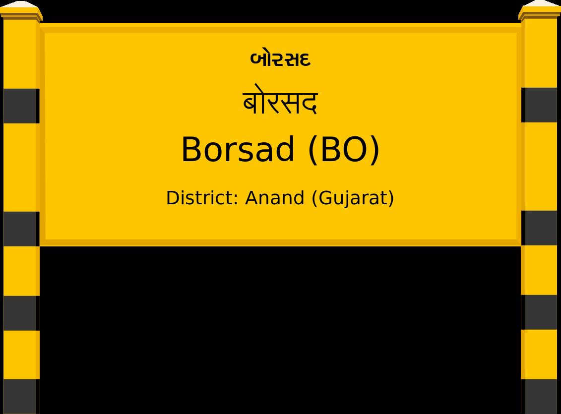 Borsad (BO) Railway Station