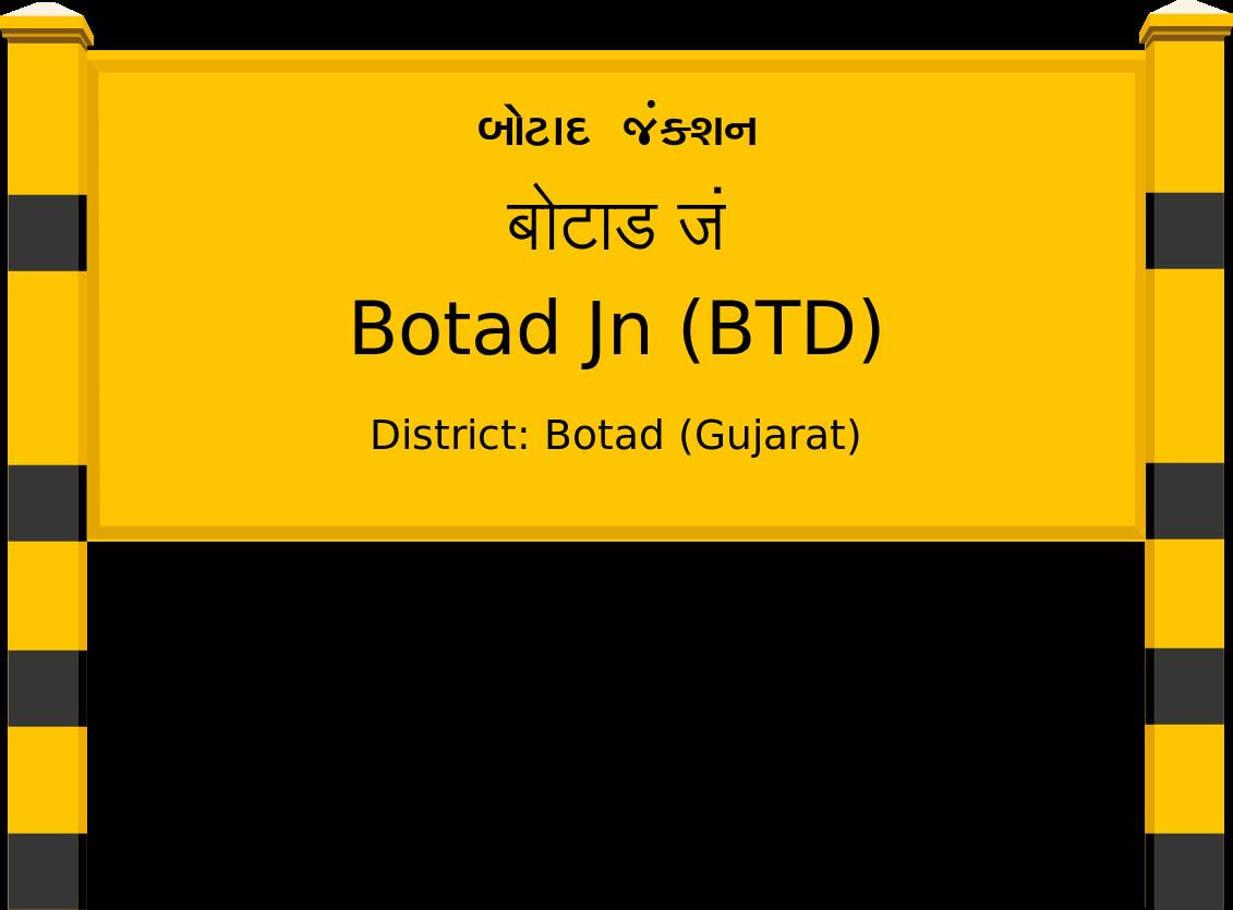 Botad Jn (BTD) Railway Station