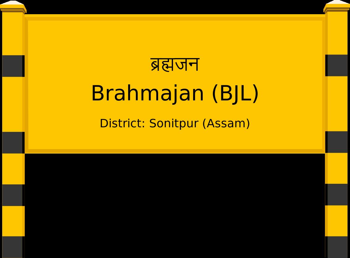 Brahmajan (BJL) Railway Station
