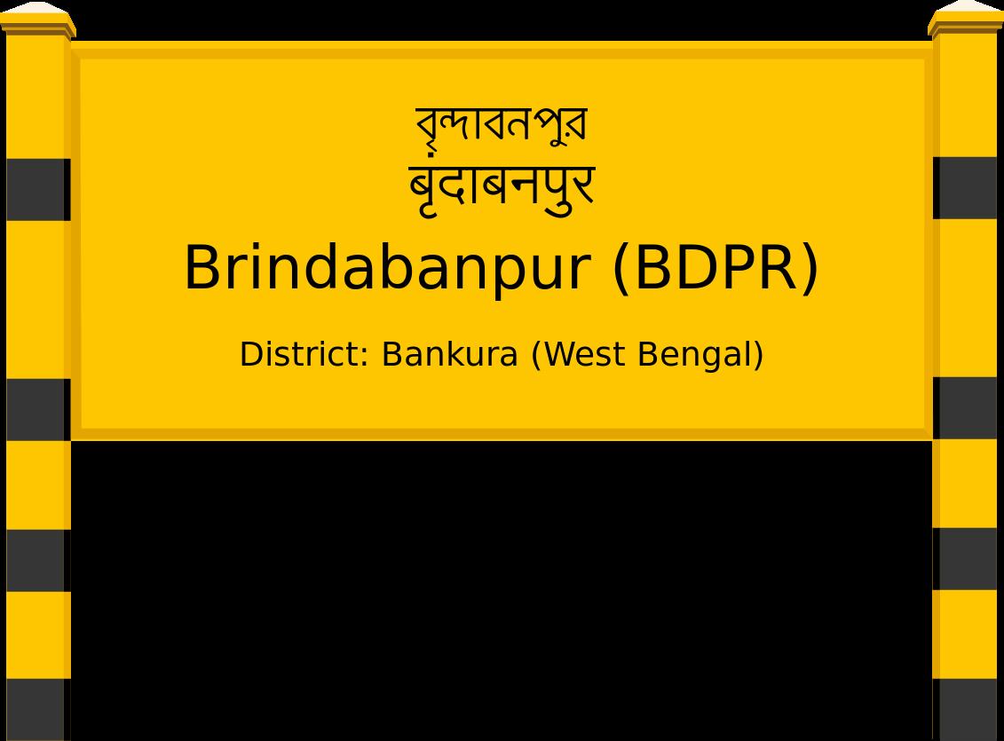 Brindabanpur (BDPR) Railway Station
