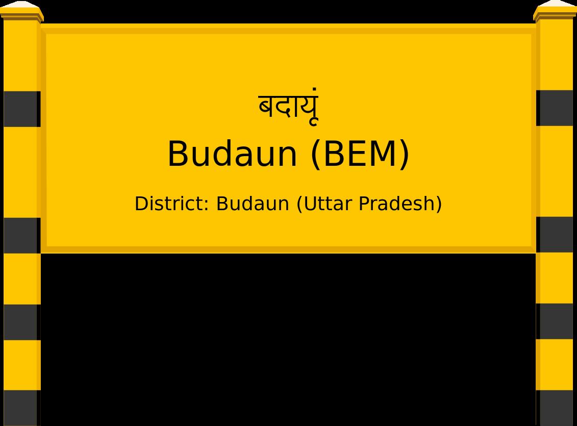 Budaun (BEM) Railway Station