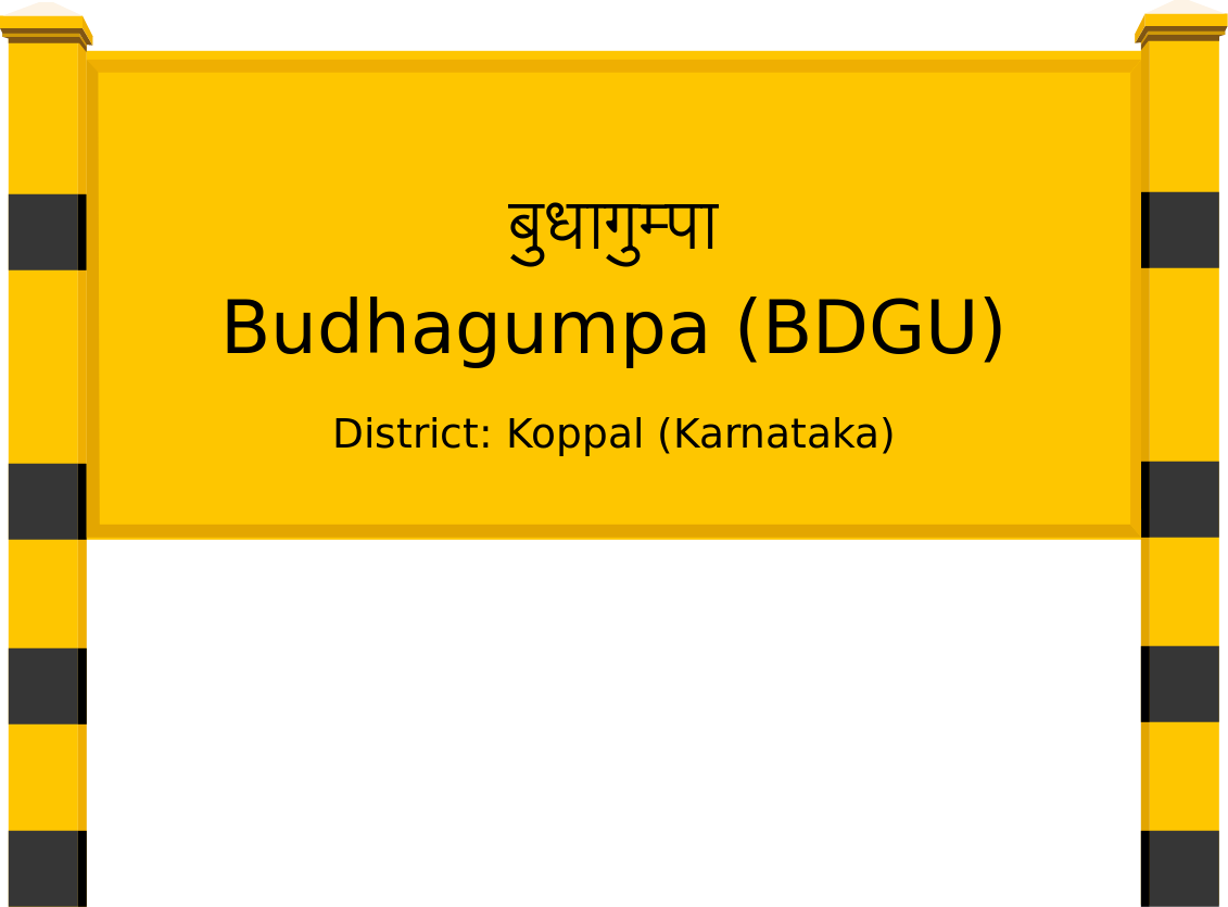 Budhagumpa (BDGU) Railway Station