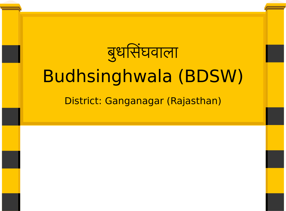 Budhsinghwala (BDSW) Railway Station
