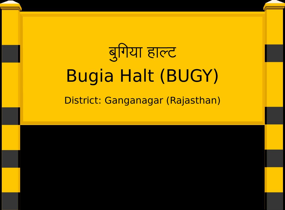 Bugia Halt (BUGY) Railway Station