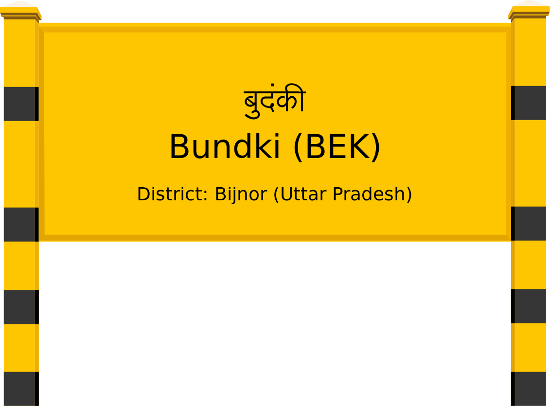 Bundki (BEK) Railway Station