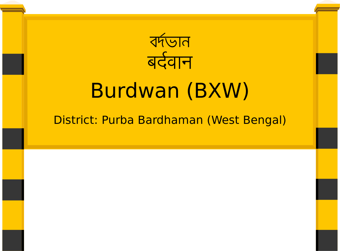 Burdwan (BXW) Railway Station