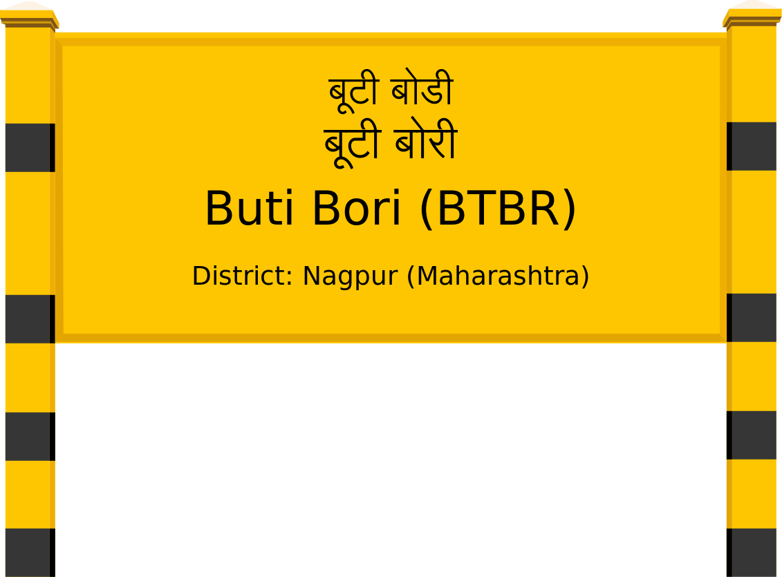 Buti Bori (BTBR) Railway Station