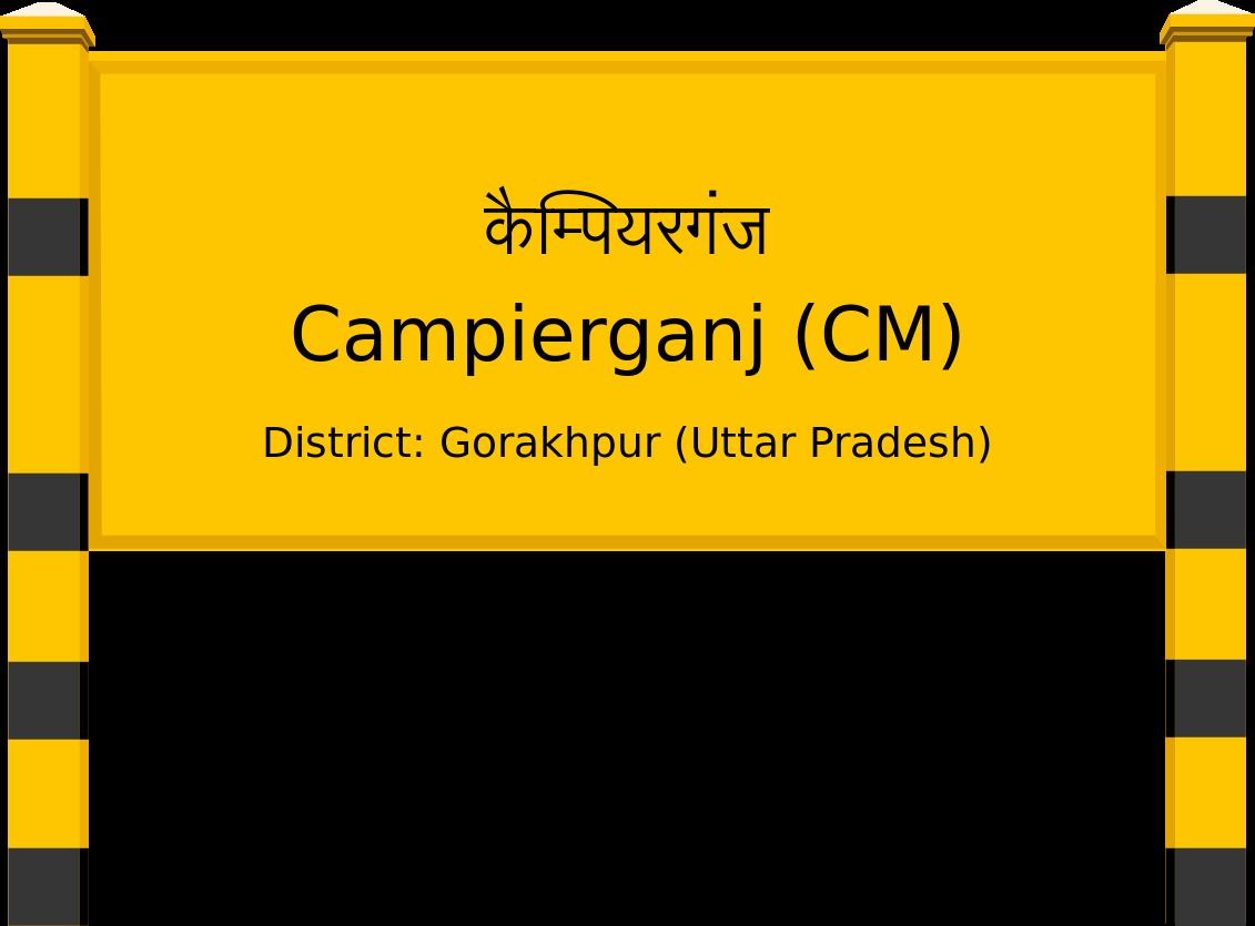 Campierganj (CM) Railway Station