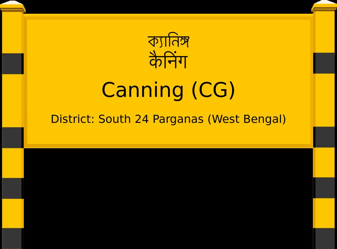 Canning (CG) Railway Station
