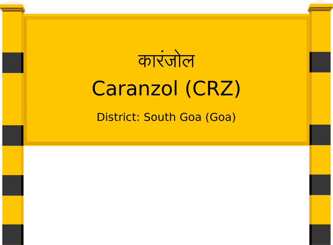 Caranzol (CRZ) Railway Station