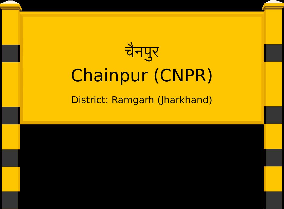 Chainpur (CNPR) Railway Station