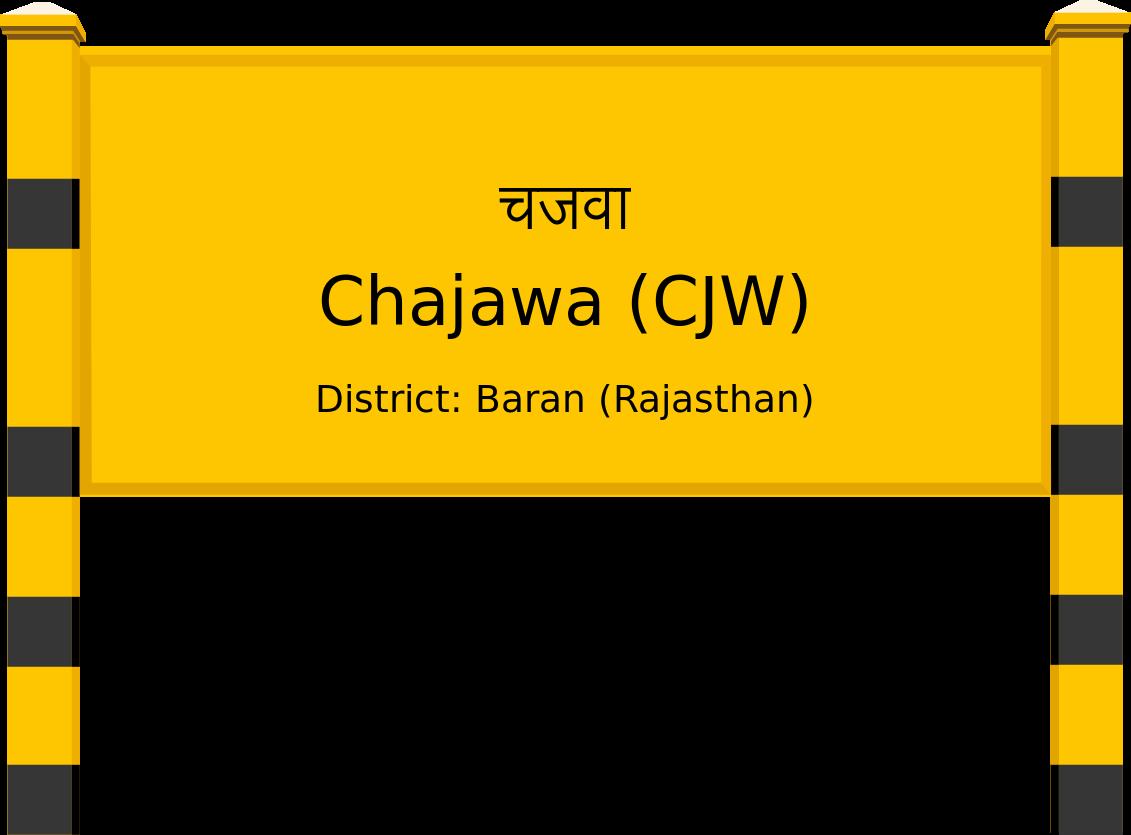 Chajawa (CJW) Railway Station