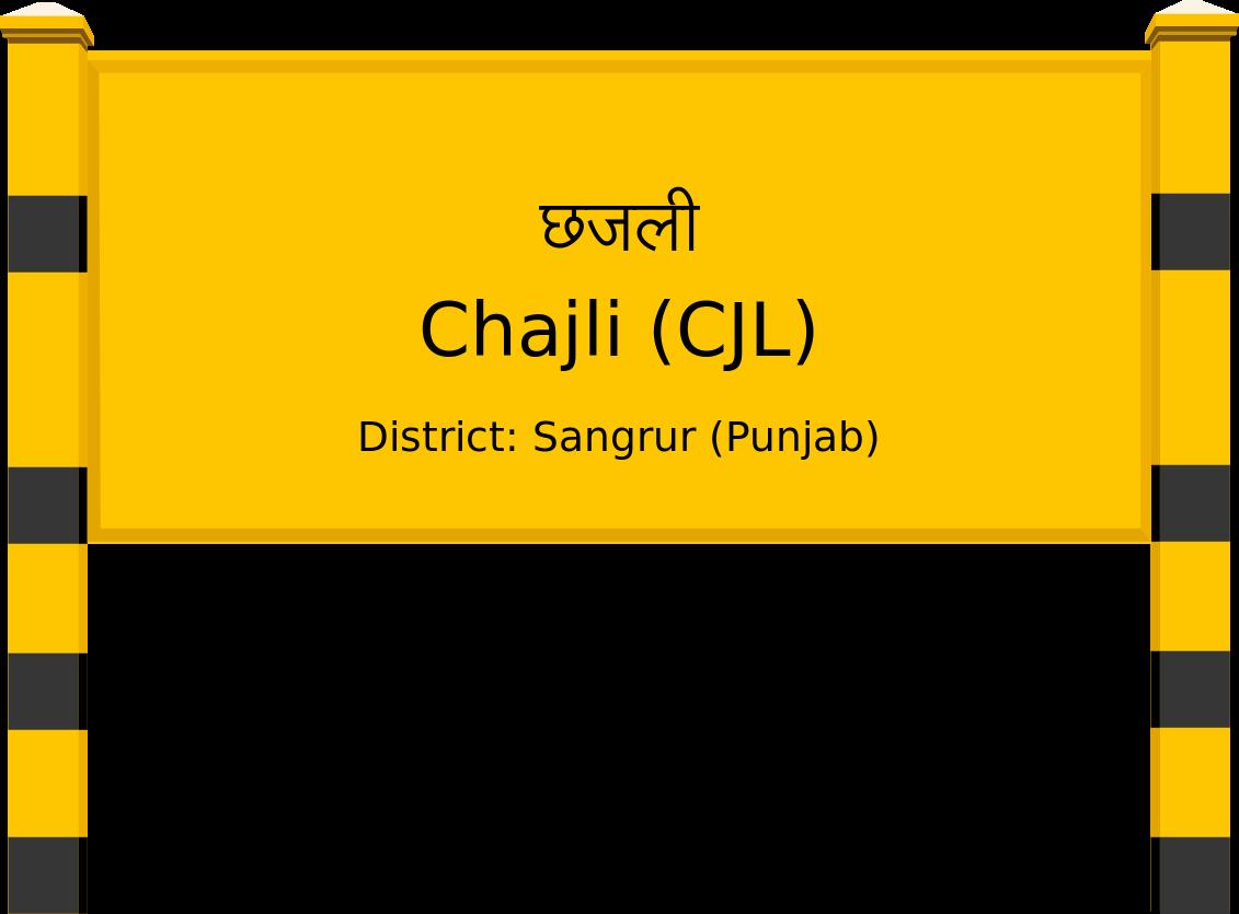 Chajli (CJL) Railway Station