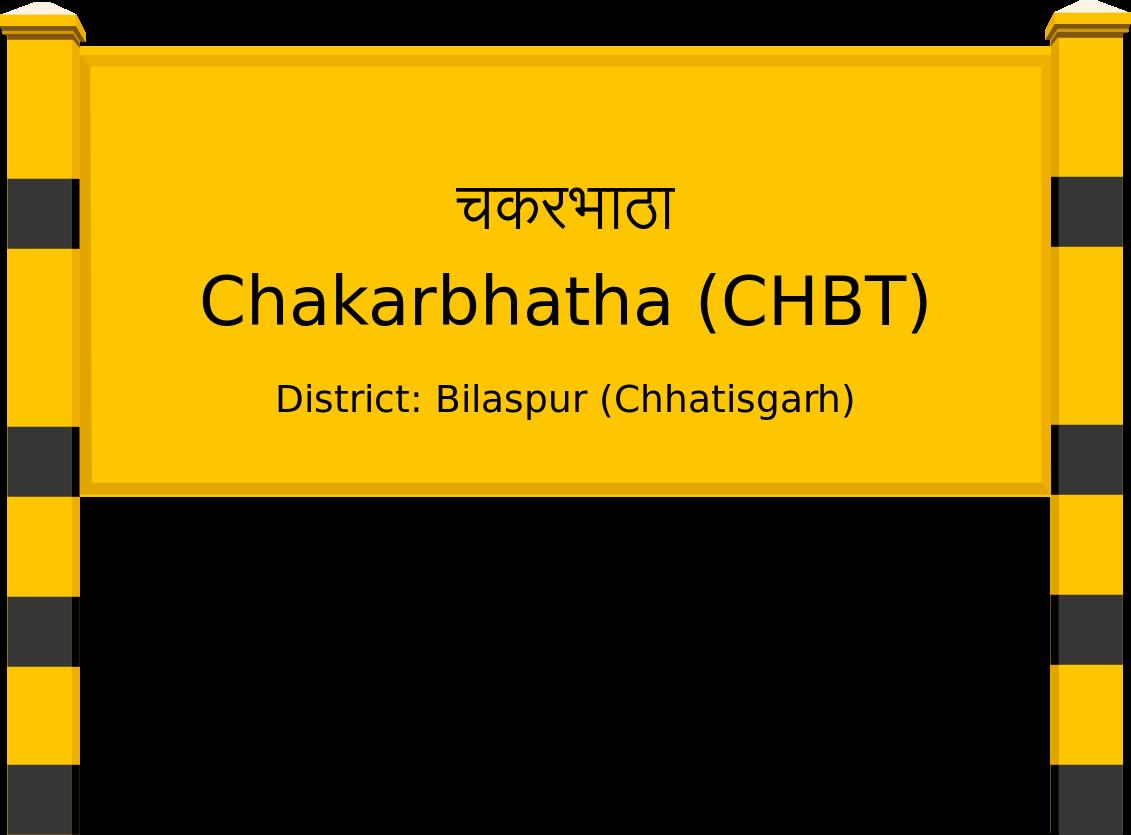 Chakarbhatha (CHBT) Railway Station