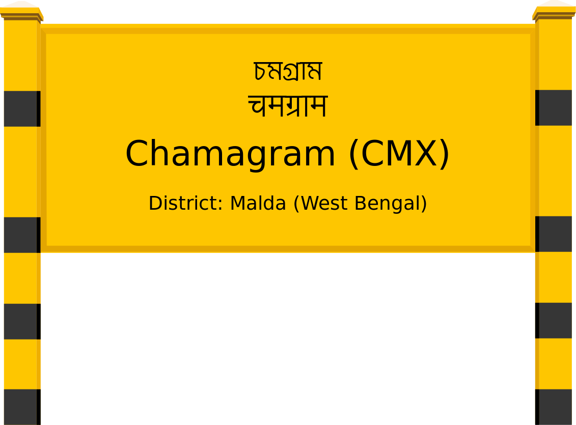 Chamagram (CMX) Railway Station