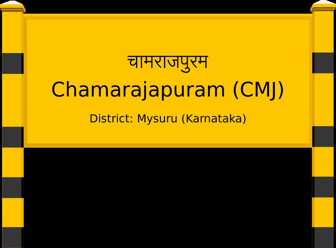 Chamarajapuram (CMJ) Railway Station