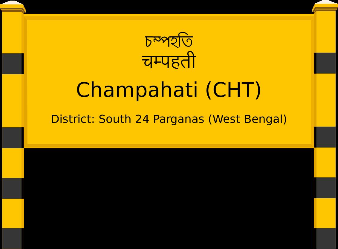 Champahati (CHT) Railway Station