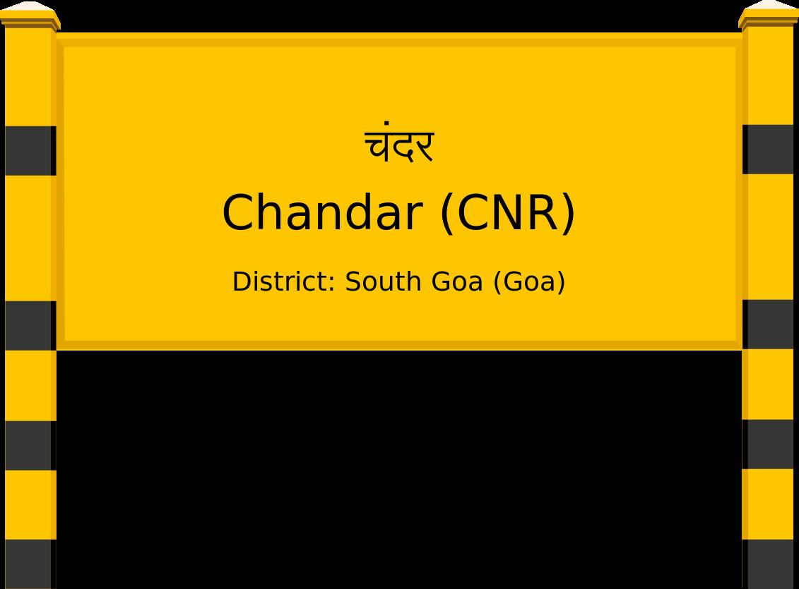 Chandar (CNR) Railway Station