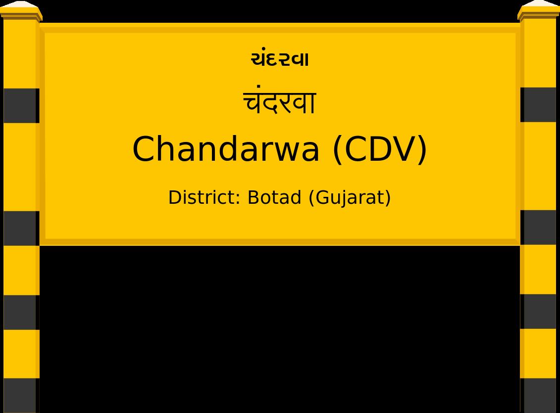 Chandarwa (CDV) Railway Station