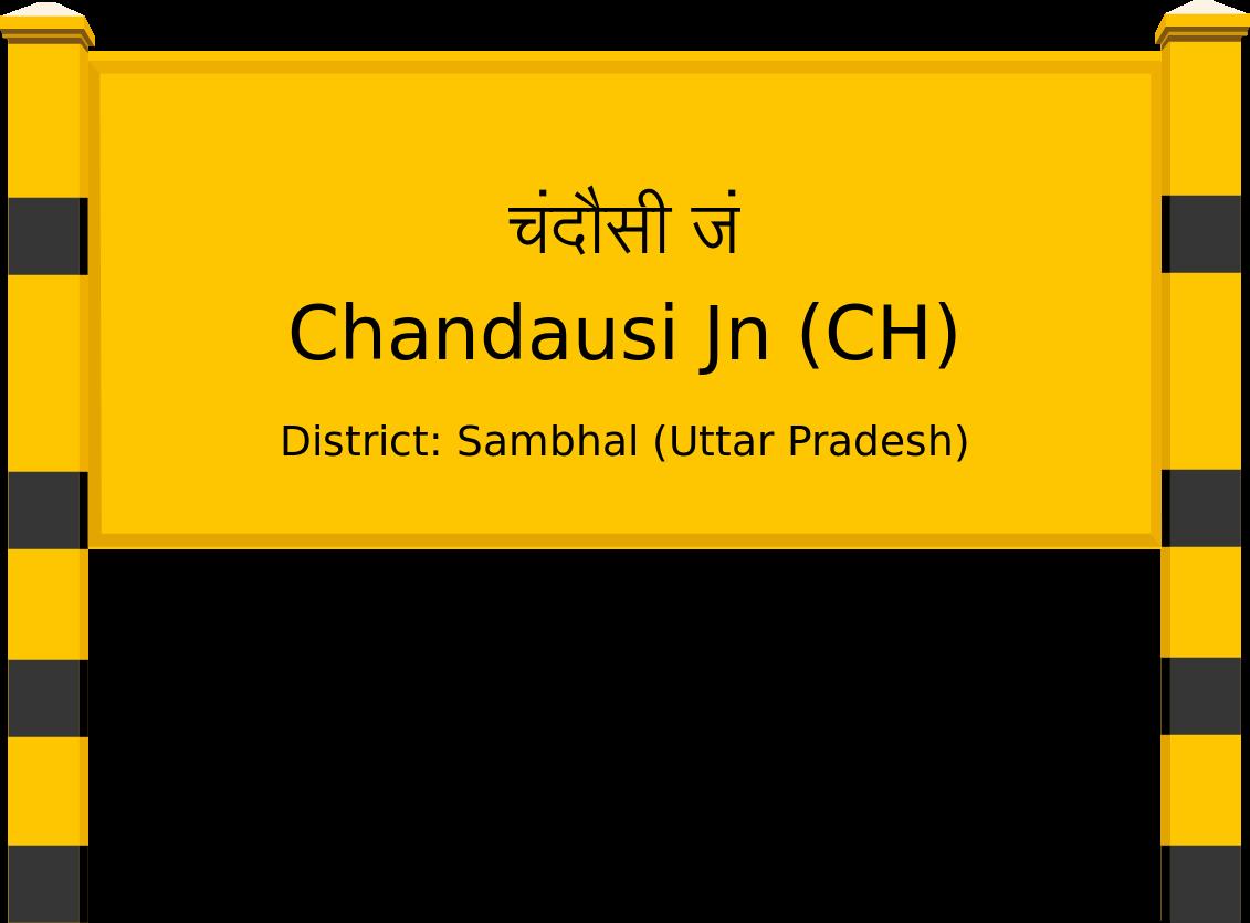 Chandausi Jn (CH) Railway Station