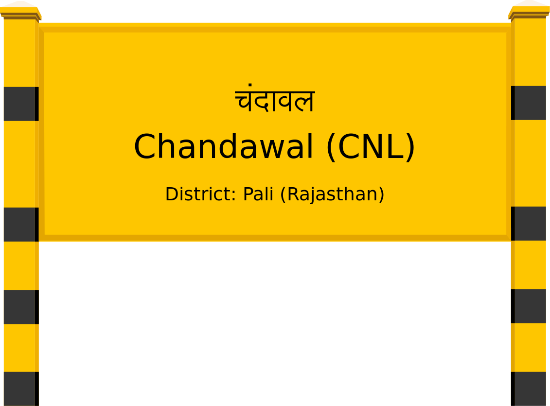 Chandawal (CNL) Railway Station