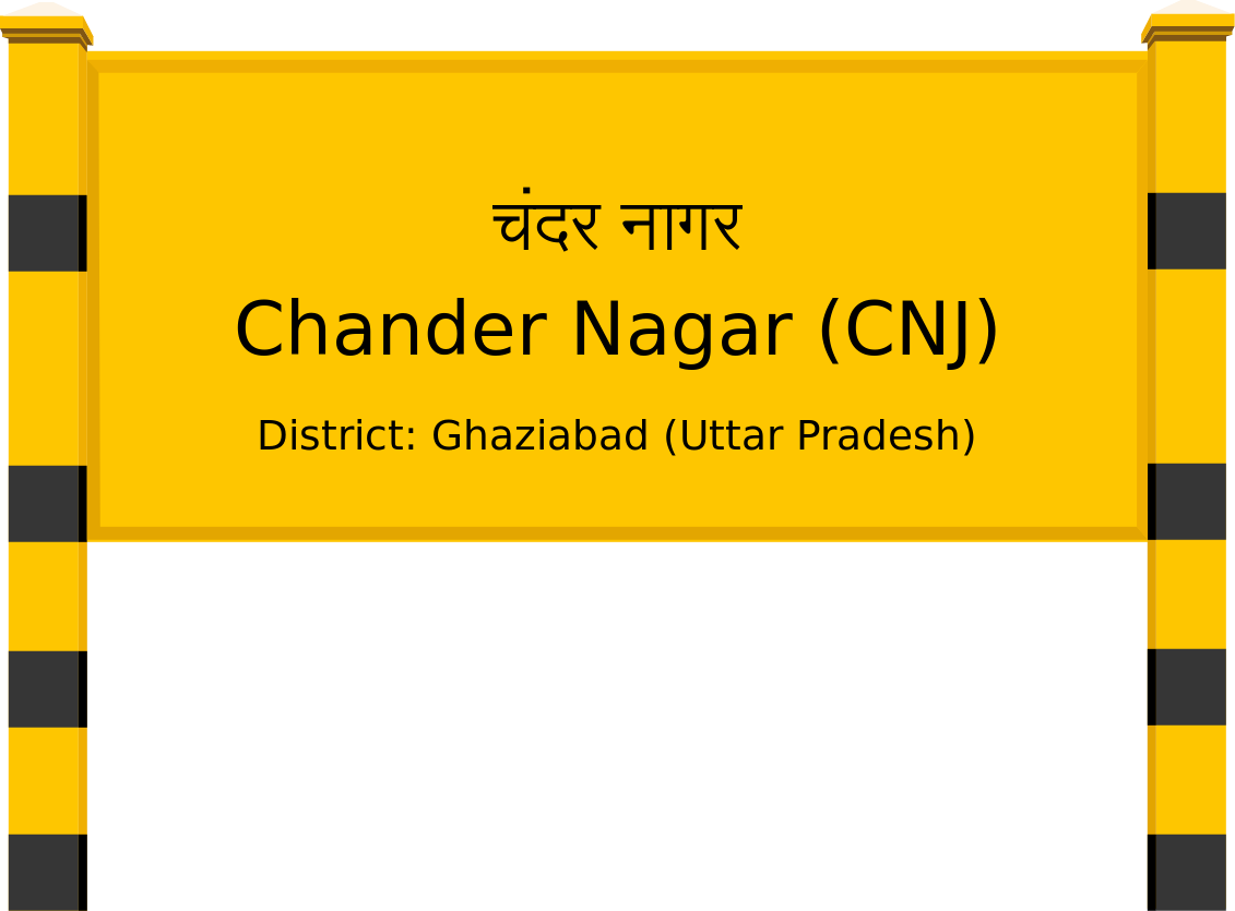 Chander Nagar (CNJ) Railway Station