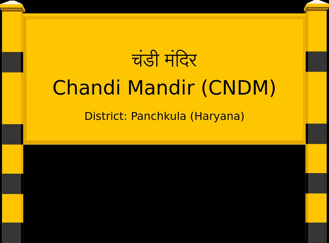 Chandi Mandir (CNDM) Railway Station