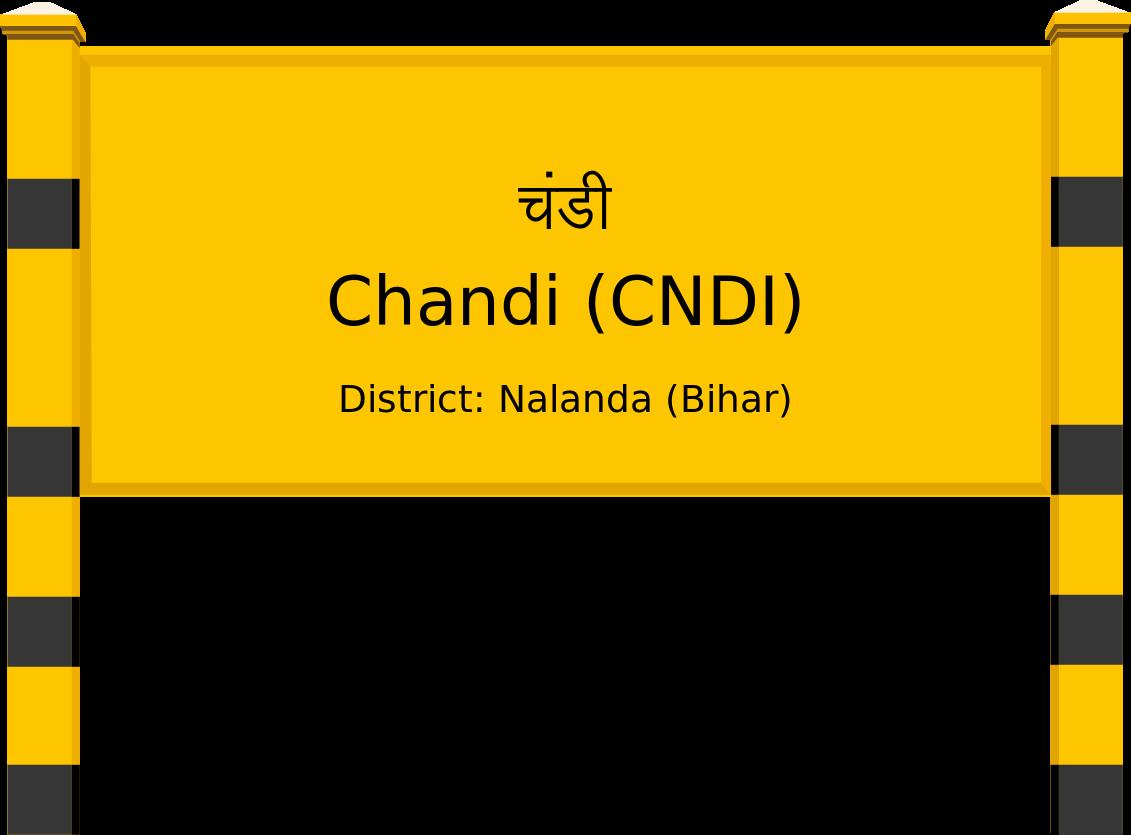 Chandi (CNDI) Railway Station