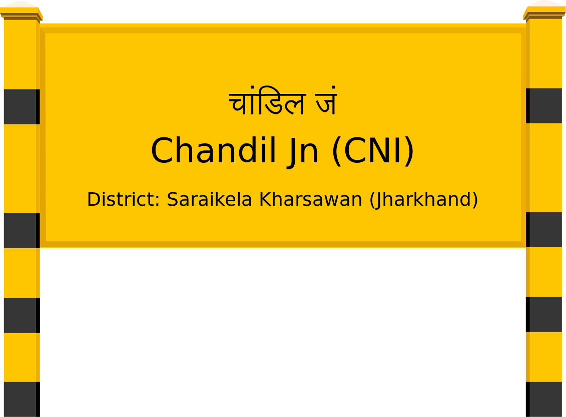 Chandil Jn (CNI) Railway Station