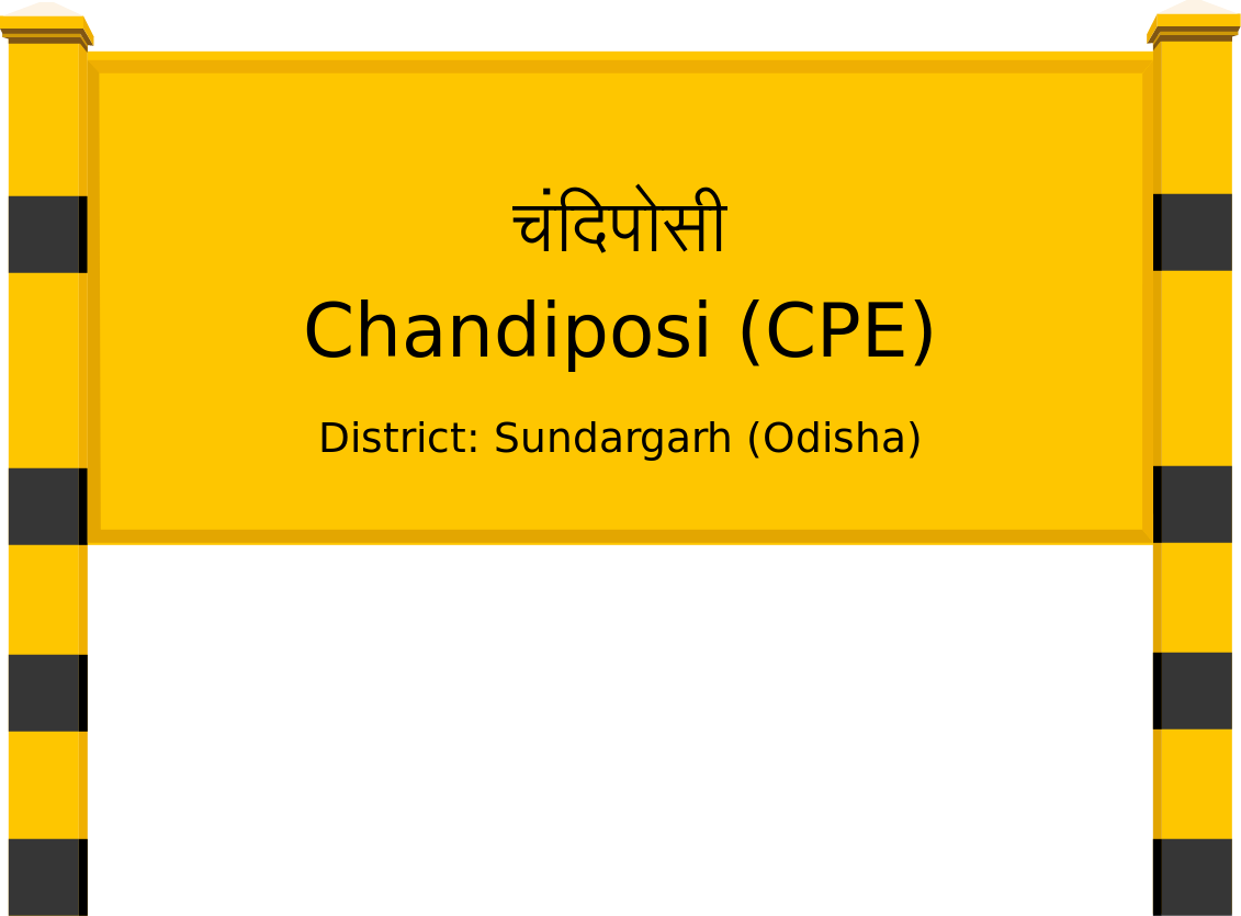 Chandiposi (CPE) Railway Station