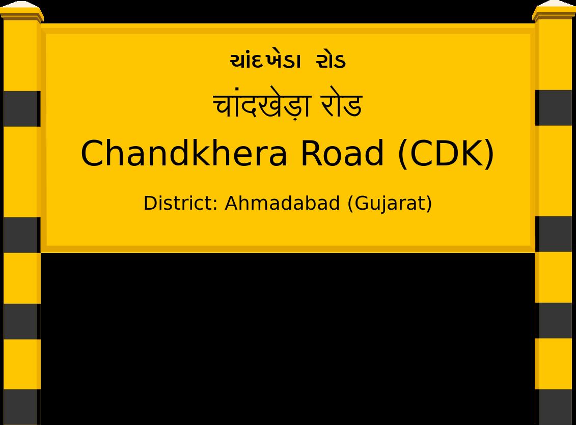 Chandkhera Road (CDK) Railway Station