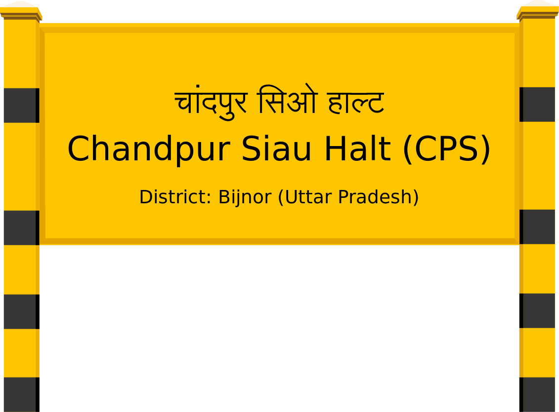 Chandpur Siau Halt (CPS) Railway Station