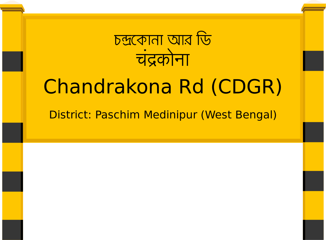 Chandrakona Rd (CDGR) Railway Station