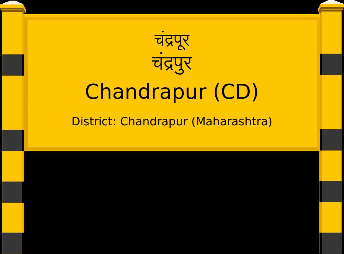 Chandrapur (CD) Railway Station
